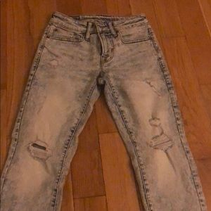 American eagle stone wash jeans 26x28